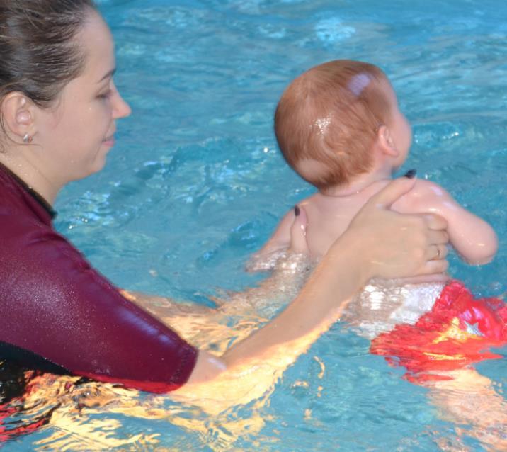 Детские групповые занятия в бассейне